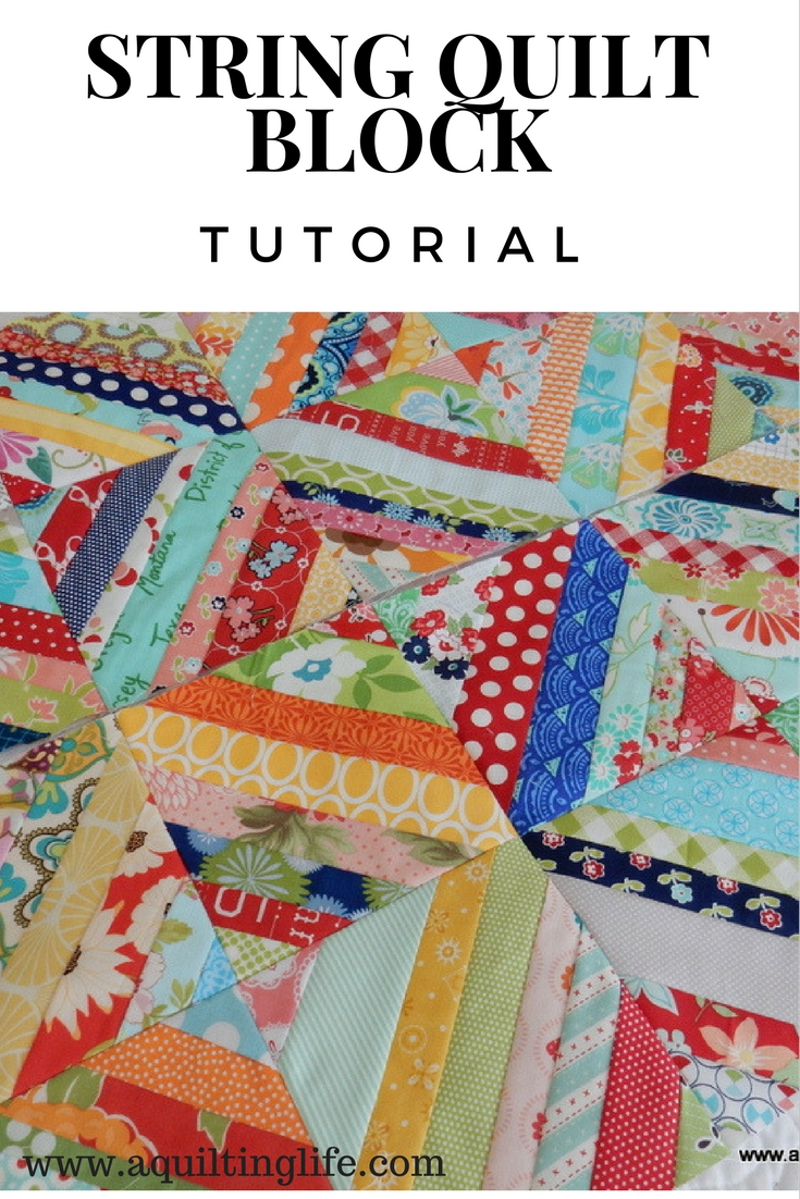 String Quilt Blocks A Tutorial A Quilting Life