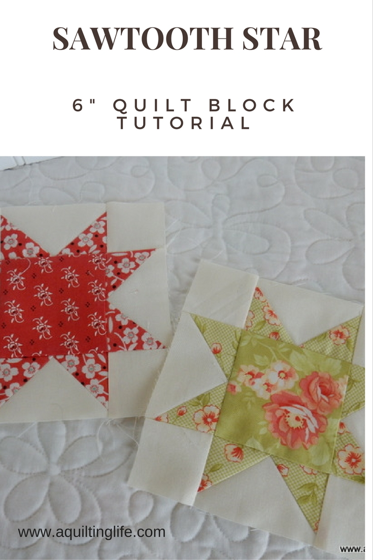 Summer Patchwork Sampler: Star Block