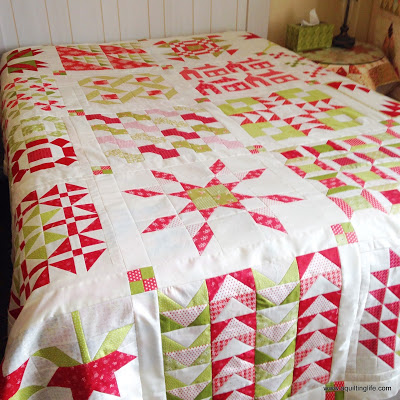 Christmas Quilt A Quilting Life