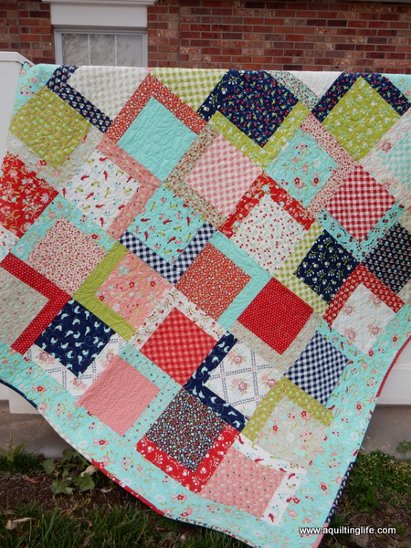 Picnic: New Quilt Pattern | A Quilting LifeQuilt Drawing