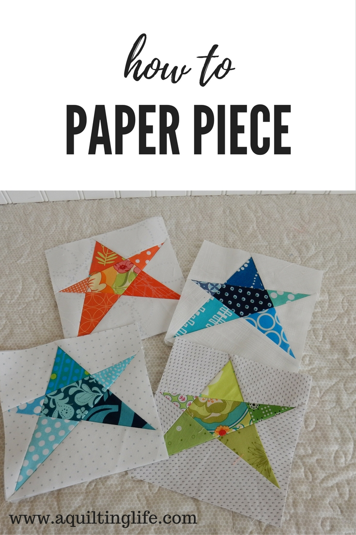 Foundation Paper Piecing A Quilting Life
