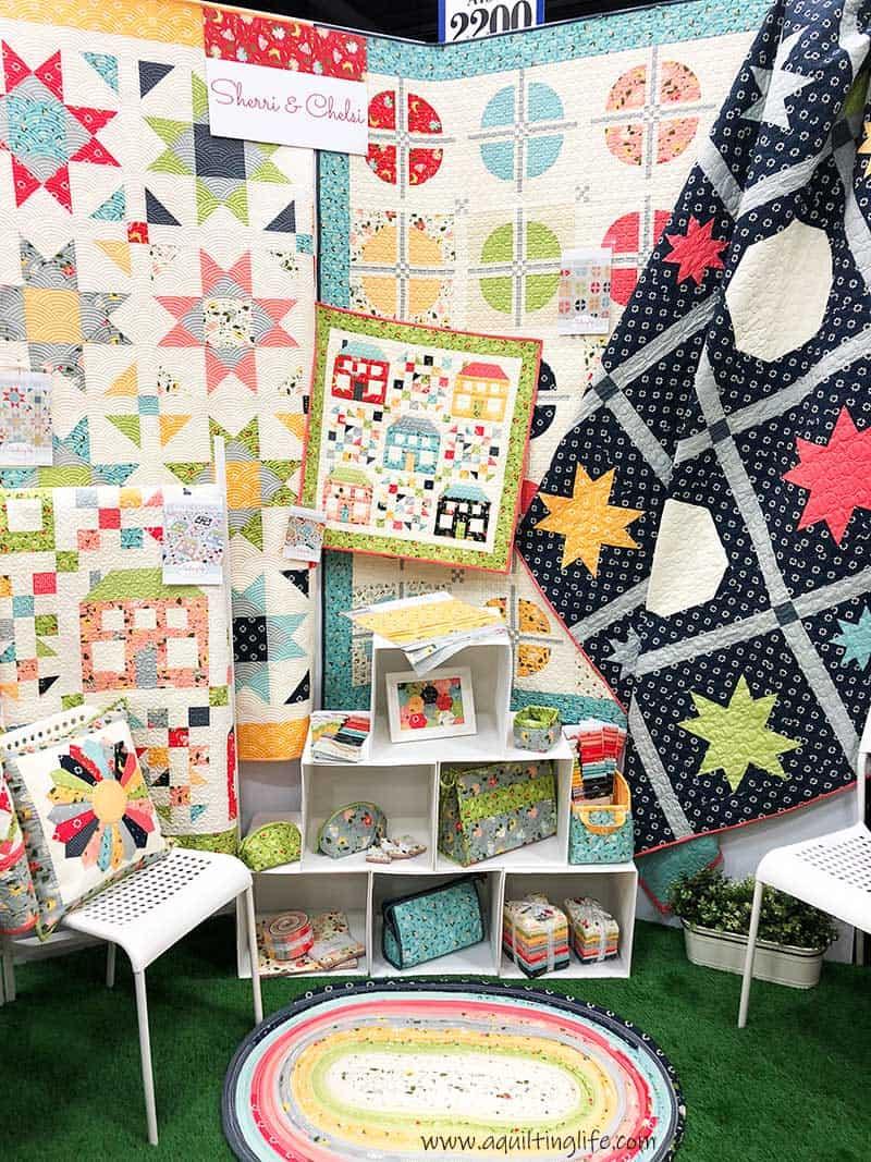 Clover Hollow Quilts Booth Quilt Market Spring 2018 A