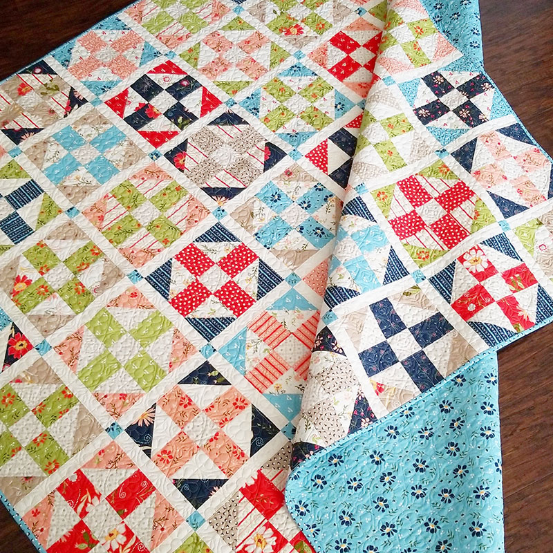 Pathways Layer Cake Jelly Roll Quilt Pattern A