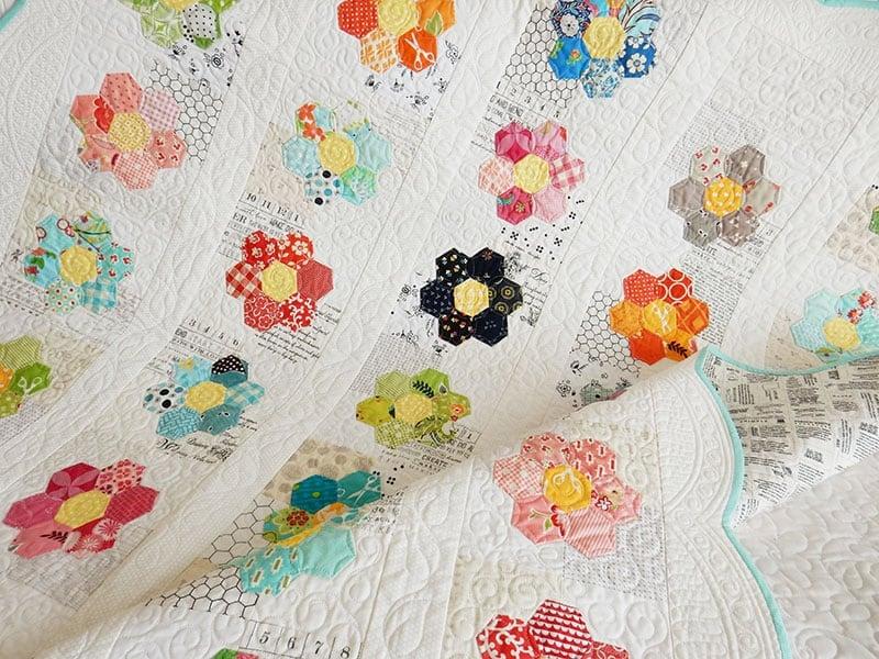 English Paper Piecing Hexagons Amp Grandmother S Flower