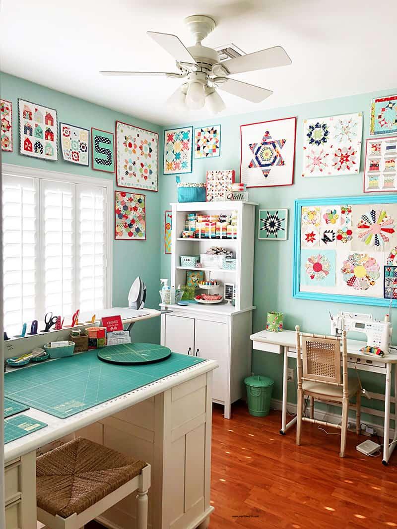 Craft Room Ideas Designs: Sewing Room Organization Tips