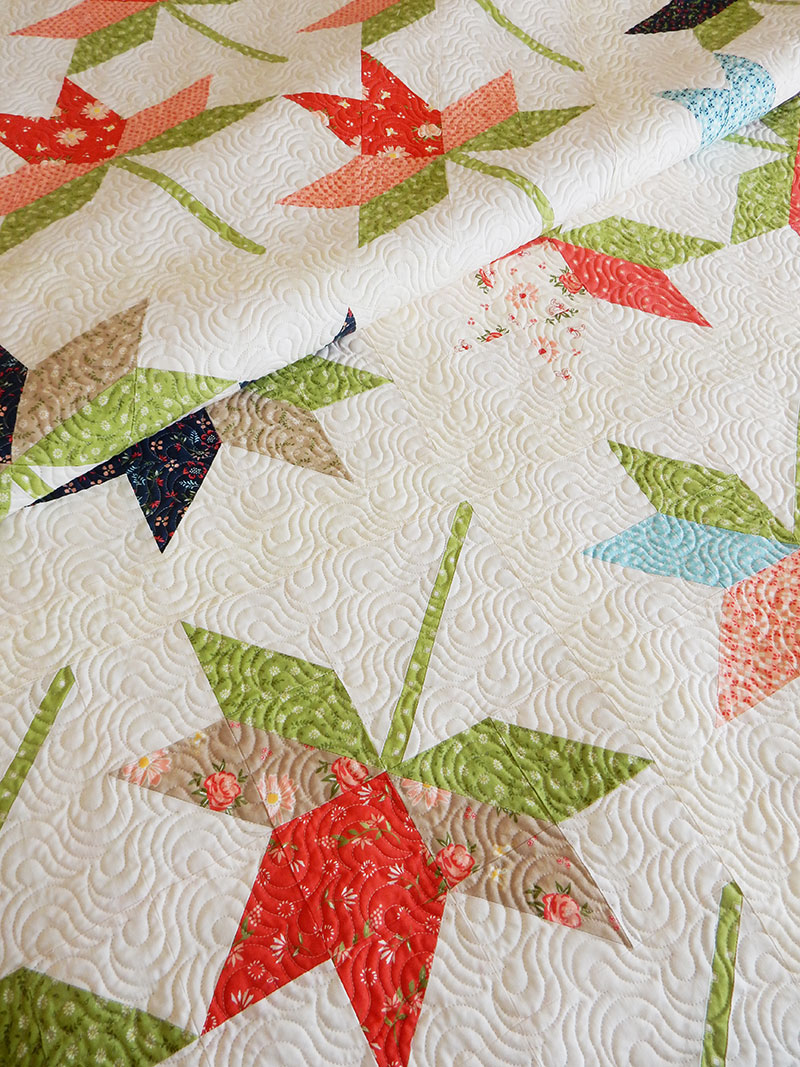 lily quilt 2