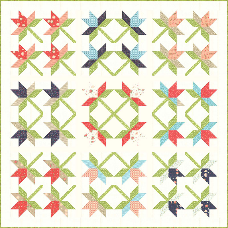 Lily quilt 3