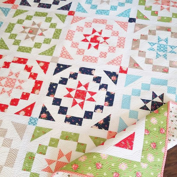 Vintage Charm Fat Eighth Quilt