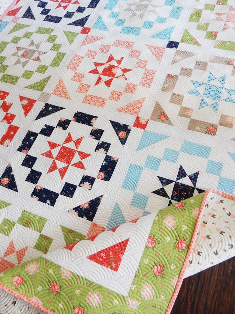 Vintage Charm Fat Eighth Quilt   A Quilting Life