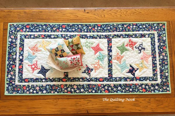 Spring-themed quilted projects