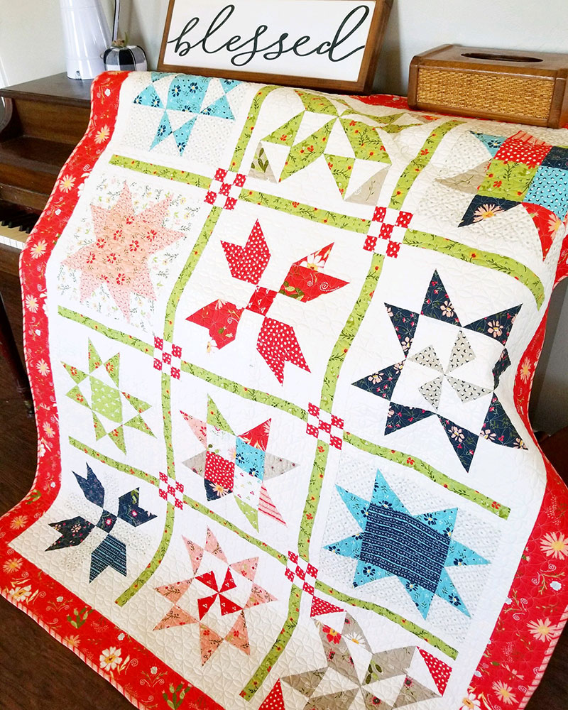 Saturday Seven Inspiration for Quilters 80