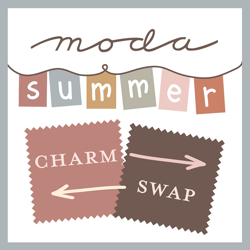 Moda Summer Charm Square Quilt Patterns