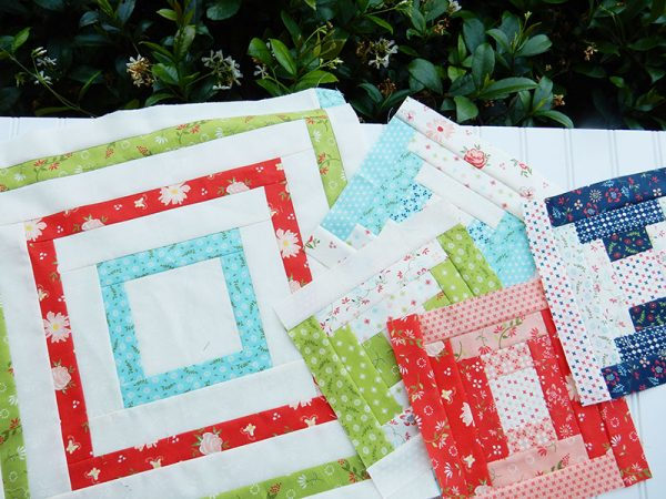Courthouse Steps Quilt Block Tutorial