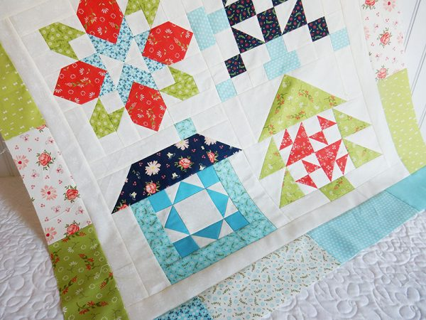 Merry Mini Christmas Quilt Sew Along Finishing Instructions
