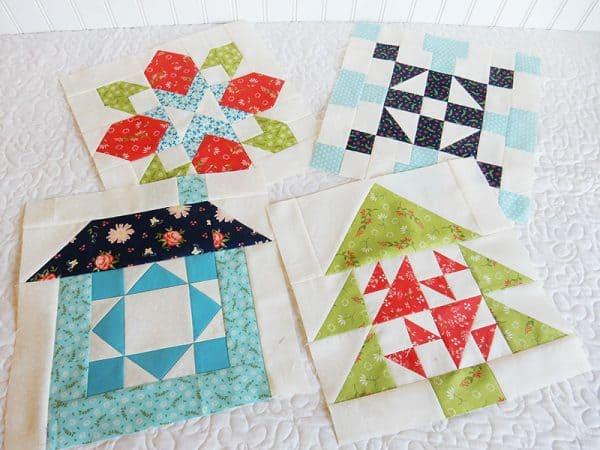 Merry Mini Christmas Sew Along Block 4   Tree Block