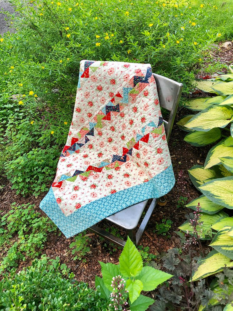 Moda Summer Charm Swap: Charm Square Quilt | A Quilting Life