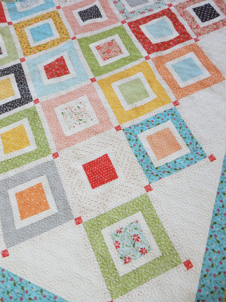 Beach Day Jelly Roll Quilt | A Quilting Life