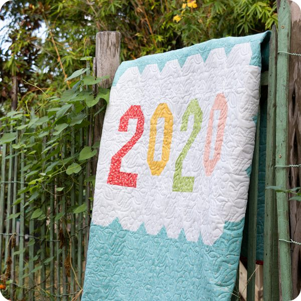Saturday Seven 111 featured by Top US Quilting Blog, A Quilting Life: image of Bloomtopia Quilt Backing