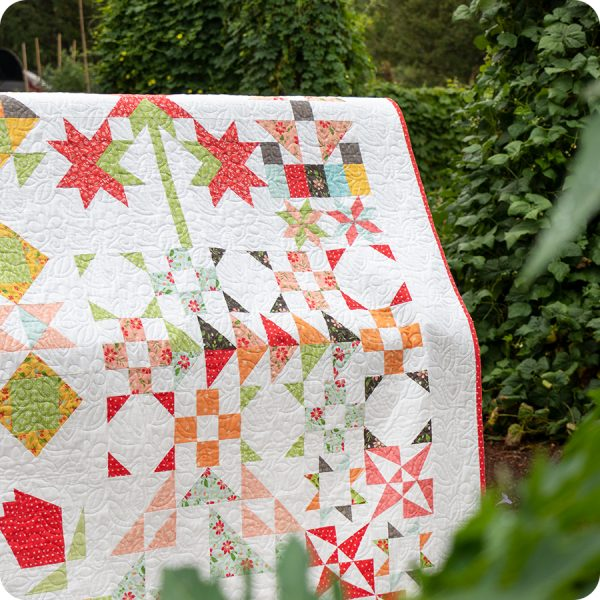 Bloom-Topia Charity Quilt Along