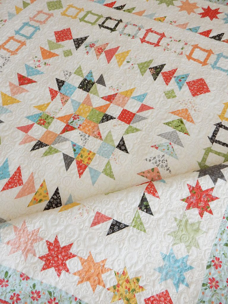 Gelato Medallion Quilt Pattern | A Quilting Life