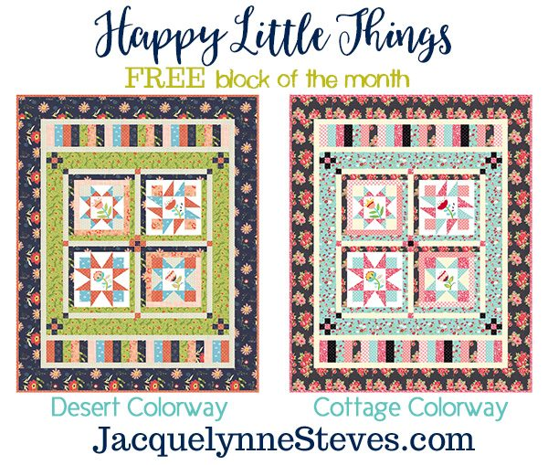 Happy Little Things Block of the Month | Giveaway