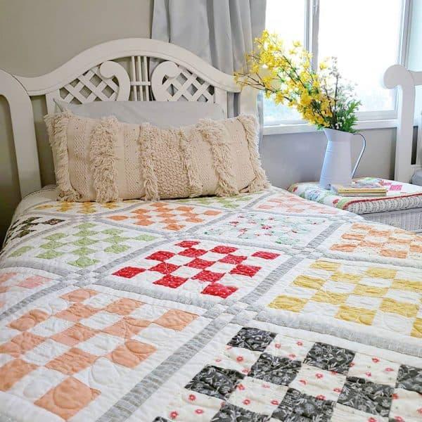 Patchwork Garden 2   Jelly Roll Quilt Pattern