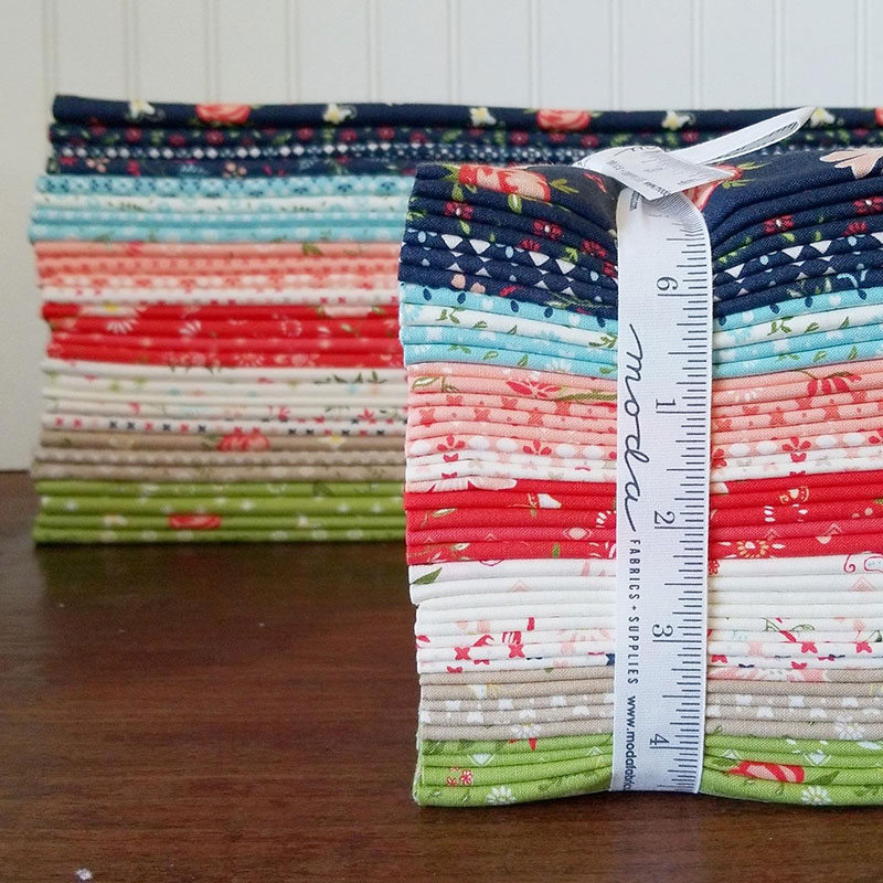 "Moda Schoolhouse Blog Hop | Free 18"" Block Patterns 