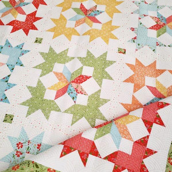 Starlight Fat Quarter Quilt Pattern