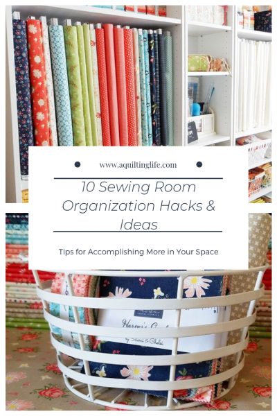 10 Sewing Room Organization Hacks and Ideas