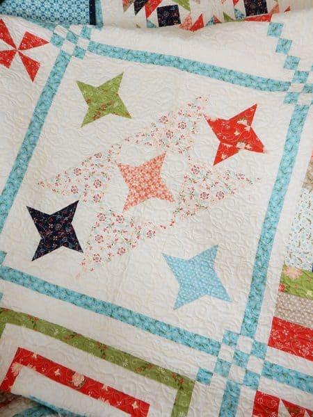 Sunday Best Quilts Sampler Block 6