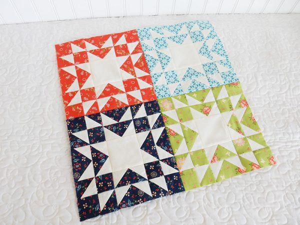 Sunday Best Quilts Sampler Block 5
