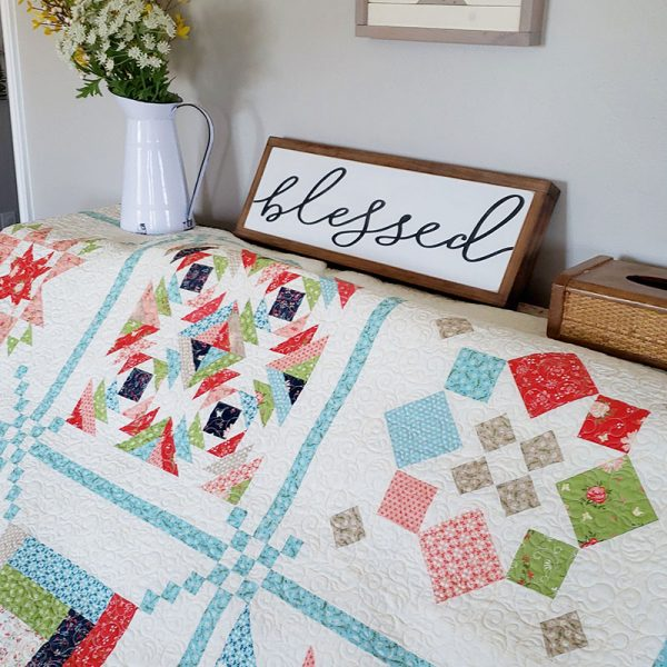 Sunday Best Quilts Sampler Block 2