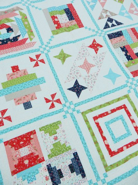 Sunday Best Quilts Sampler Block 4