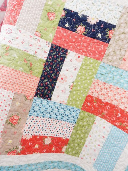 Sunday Best Quilts Sampler Block 8