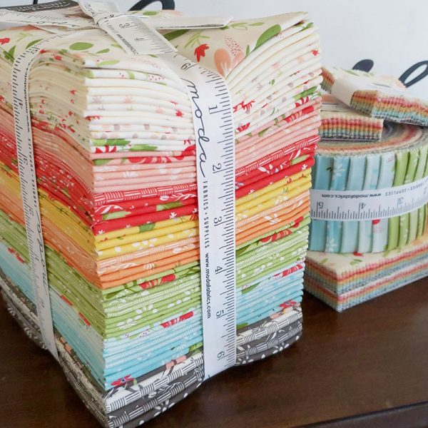 10 Tips for a Great Year of Quilting featured by Top US Quilting Blog, A Quilting Life: image of Summer Sweet fabrics