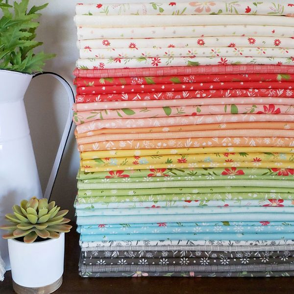 Saturday Seven 109 featured by Top US Quilting Blog, A Quilting Life: image of Summer Sweet fabrics by Sherri & Chelsi for Moda fabrics
