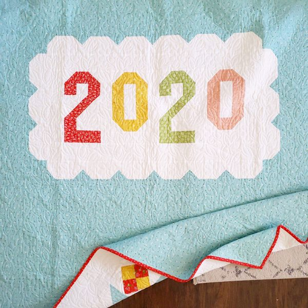 Saturday Seven 113 featured by Top US Quilting Blog, A Quilting Life: image of Bloomtopia 2020 Quilt Backing