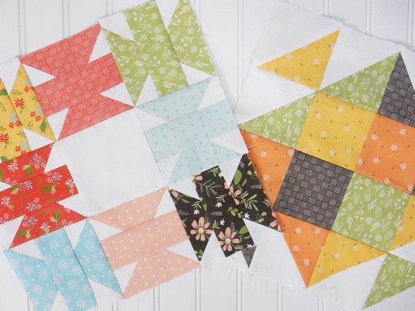 Bloomtopia Quilt Along Release 1 featured by Top US Quilting Blog, A Quilting Life: image of Bloomtopia Blocks
