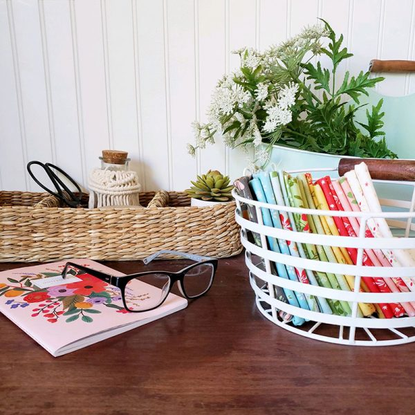 Saturday Seven 112 featured by Top US Quilting Blog, A Quilting Life: image of Summer Sweet Fabric