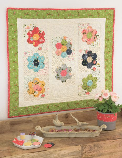Saturday Seven 117 featured by Top US Quilting Blog, A Quilting Life: image of Window Box quilt
