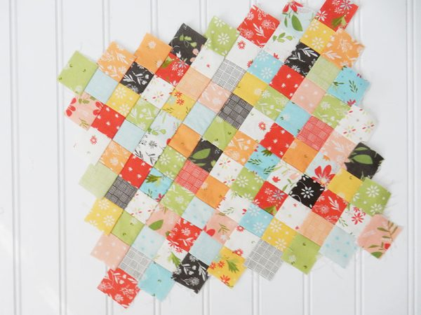 Saturday Seven 116 featured by Top US Quilting Blog, A Quilting Life: image of patchwork