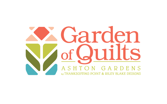 Garden of Quilts 2020 featured by Top US Quilting Blog, A Quilting Life: image of Garden of Quilts Logo