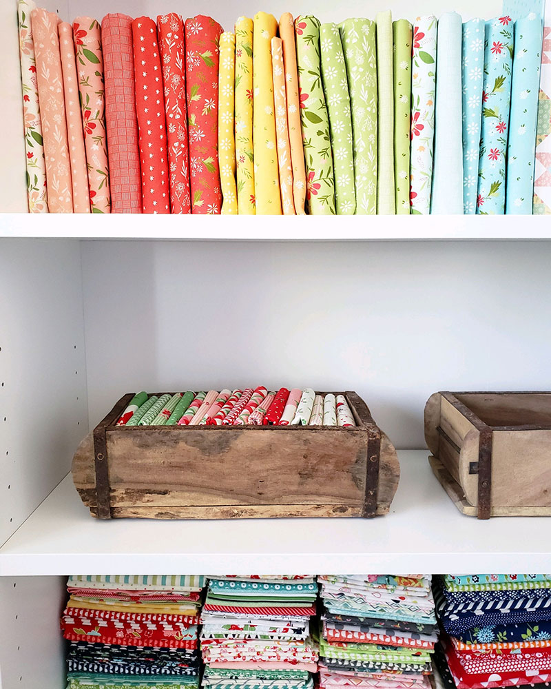 Tips For Small Sewing Spaces Small Sewing Room Tour A Quilting Life