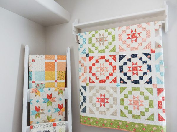 How to Hang Small Quilts featured by Top US Quilt Blog, A Quilting Life: image of quilts