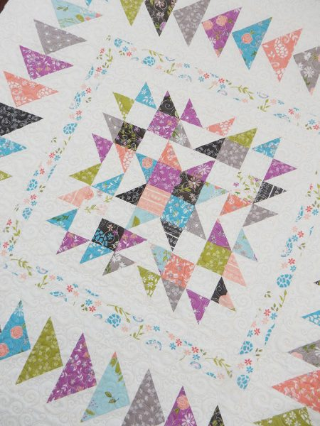 Gelato Remix Quilt featured by Top US Quilting Blog, a Quilting Life: image of Gelato Remix Quilt