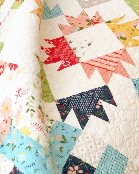 7 Tips for Fabulous Scrap Quilts featured by Top US Quilting Blog, A Quilting Life