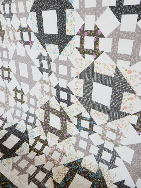 Lattice Quilt in Balboa Fabrics featured by Top US Quilting Blog, A Quilting Life: