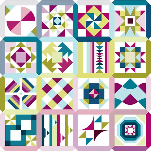 Summer Sampler 2020 featured by Top US Quilting Blog, A Quilting Life
