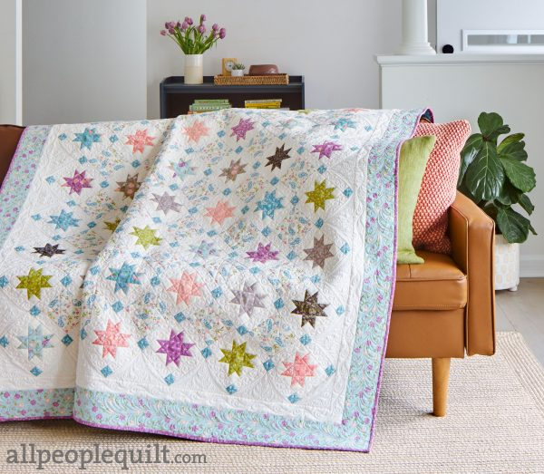 Star Struck Quilt featured by Top US Quilting Blog, A Quilting Life: