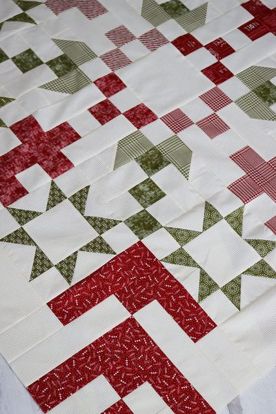 Jelly Snowflake Quilt Finishing featured by Top US Quilting Blog, A Quilting Life